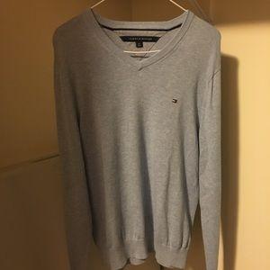 Tommy Hilfiger Pima Cotton Sky Blue Sweater, S